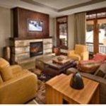 One Village Place living room above Northstar California gondola