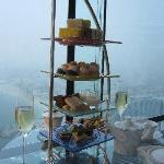 Afternoon tea at the Burj Al Arab