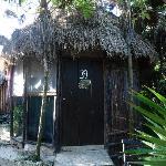 Exterior of our cabana