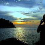 Sunset at Emerald Bay