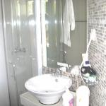 saubere Dusche,WC