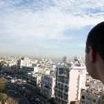 Downtown Tel Aviv from one of the kids rooms.