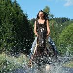 Etwas Abkühlung im Sommer für Pferd&Reiter