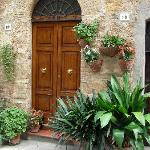 One of many Pienza doors