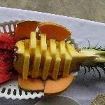 Fruit at breakfast!