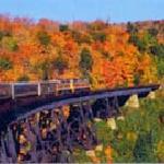 Canada Train Vacation to Errington's Wilderness Island Resort