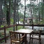 Porche del bungalow