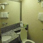 Clean Bathroom - Quality Inn Enola PA