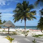 Beach in front of Serenidad Shardon