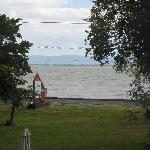 View of the Bight of Thames and front lawn