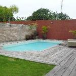 Poolside at the Silver villa