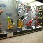 Modern fire fighting equipment