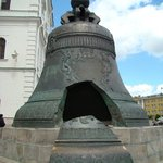 The Tsar Bell The largest bell in the world. But it never rung — during a fire in 1737, a hu