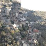 Rocamadour - a beautiful little town built into the mountains
