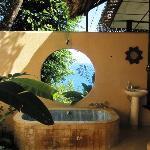 bathroom in bali house