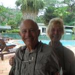 The delightful Nancy and Rober Dean, avid bird watchers we had the absolute pleasure of meeting