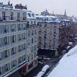 View from hotel (winter)