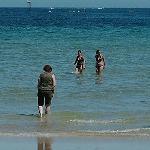 A dip in the sea, unresistable