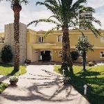 Entrada al hotel Holiday Inn Alicante