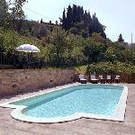 The new swimming pool with salt water - Villa Nuba vacation rental in Perugia