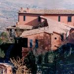 The external view of Villa Nuba charming apartment rental in Perugia