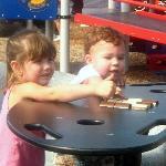 Train playground