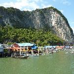 Koh Panyee - village on stilts