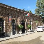 Entrance to Todos Santos Inn