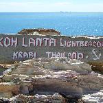 am Leuchtturm an der Südspitze der Insel