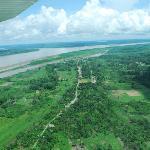 Albergue y Comunidad de Grau en medio de la selva