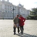 Palacio Real .. from the entrance