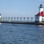 南埠頭から見たSt Joseph灯台