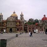 Mexico DF Antigua Basilica de Guadalupe