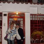 Cintia and Denise at Laramani Hostal