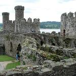 conwy castle within walking distance