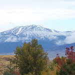 Mt. Rose with first snow.