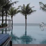 Infinity Edge pool and South China Sea
