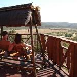 Views from lodge, Addo Afrique