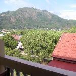 Blick vom Balkon (Rückseite)