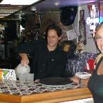 Fidel's friendly cantina staff...with the best street tacos in SoCal.