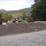 View on Parking Lot Side
