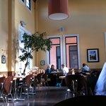 Nice dining area.