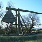 Trebuchet at Caeverlock