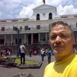 Antigua Casa de Gobierno en la Quito Vieja
