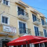 Our hotel, Suites Los Arcos--Isla Mujeres