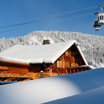 Ski to and from the chalet!