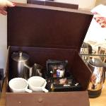 Coffee Box in the room