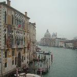 Canal grande and Santa Maria della Salute in the background