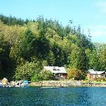 Grizzly Bear Lodge on Minstrel Island