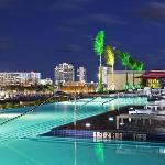 The pool deck at Sheraton Puerto Rico Hotel and Casino
